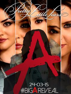 Poster by Hector Torres.   Pretty Little Liars