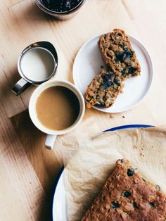 delicious-designs:Banana Blueberry Coconut Bread