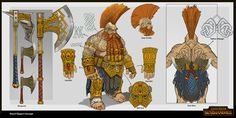 ArtStation - Dwarf Slayer Concept, Rinehart Appiah