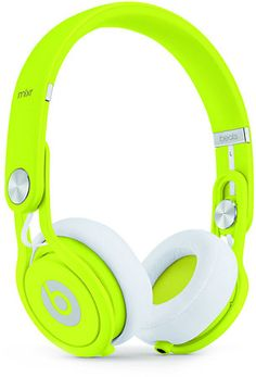 Beats By Dre Mixr Neon Yellow Limited Edition headphones are pro grade headphones with quality sound. The Mixr headphones were made with the help of super DJ David Guetta and backed by music legend Dr. These Limited Edition Beats By Dre Mixr headphon Beats By Dre, Cute Headphones, Wireless Headphones, Ipad, Cheap Beats, Neon Colors, Bright Colors, Neon Yellow, Iphone