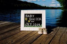 Pregnancy Announcement at the lake park with baby Sperry Top-siders Pregnacy Announcement, Pregnancy Announcement Pictures, Cute Baby Announcements, Maternity Pictures, Pregnancy Photos, Gender Reveal Photos, Lake Photos, Baby Boy Birthday, Party Pictures