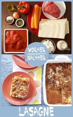 http://eatsmarter.de/rezepte/lasagne-frischkaese Lasagne ist ein echter Klassiker unter den Gerichten mit Pasta und schmeckt der ganzen Familie.