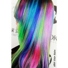 Neon Rainbow Bright Colormelt Done by @pennymagdziak @ubucolorsalon using @magiclightener @mineralsofeden.official @olaplex @pravana #colormelt #colorfulhair #galaxyhair #mermaid #mermaidhair #mermaidians #unicornhair #colourpop #pravana #pravanavivids #neon #neonhair #ESTETICALIKES #rainbowhair #rainbow #hairenvy #hairinspo #hotonbeauty #pinkhair #purplehair #Olaplex #dyeddollies #dollswithdye @mermaidians #showusyourvivids #voiceofhair #pastelhair