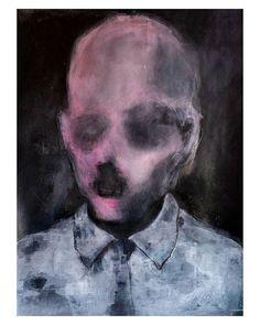 The CEO experience gouache on paper 60x50cm . .  #art #sztuka #kunst #painting #gouache #portrait #texture #ratedmodernart #flaming_abstracts  #drailedmag  #thednalife #artcollector #unknown_artworks #contemporaryartcurator #WojciechSosidko #fineart #weirdhistoryx