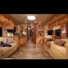 Totally buying an RV that looks similar to this inside and travel, travel, travel