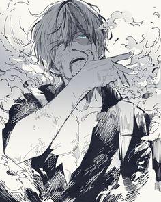 Todoroki Shouto // Boku no hero Academia Boku No Hero Academia, My Hero Academia Memes, Hero Academia Characters, My Hero Academia Manga, Anime Characters, Anime W, Hot Anime Boy, Bakugou Manga, Manga Drawing