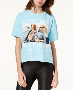 Image 1 of Barbie X Love Tribe Juniors' Graphic T-Shirt