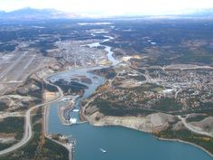 pics of whitehorse yukon | Aerial View of Whitehorse, Yukon - ExploreNorth