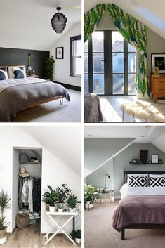 5 Instagram Loft Bedrooms We\u0027re Crushing On Right Now & The 96 best LOFT + ATTIC IDEAS. images on Pinterest in 2018 | Attic ...