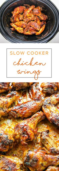 34 best slow cooker meals - This is the best way to make a ton of juicy, flavorful chicken wings! The slow cooker is the best thing to happen to all kitchens and this recipe is proof! A must, easy way to cook chicken wings Crockpot Dishes, Crock Pot Slow Cooker, Crock Pot Cooking, Slow Cooker Chicken, Slow Cooker Recipes, Cooking Recipes, Crockpot Chicken Wings, Party Wings Crockpot, Crockpot Wings Recipe
