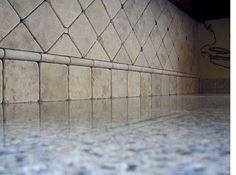Tumbled Travertine Backsplash - Ceramic Tile Advice Forums - John ...