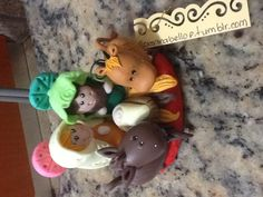 Polymer ,clay ,crafts,christmas,nativity scene, Roxsanabellop.tumblr.com