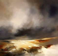 "Saatchi Art Artist Alison Johnson; Painting, ""Winter Glow"" #art"
