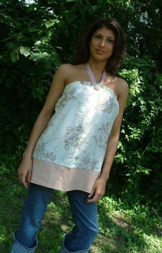 Halter Pillowcase DRESS or TOP - Design your OWN - Made in any Size - Boutique Mia