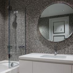 Auckland Penthouse Modern Bathroom, Bathroom Ideas, Bathroom Interior Design, Auckland, Mirror, Luxury, Home Decor, Funky Bathroom, Decoration Home