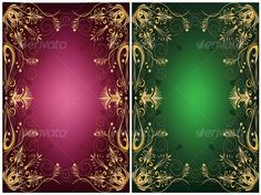 Realistic Graphic DOWNLOAD (.ai, .psd) :: http://vector-graphic.de/pinterest-itmid-1000044581i.html ... Ornamental frames ...  design, frame, green, leaves, red, retro, scrolls, vintage, yellow  ... Realistic Photo Graphic Print Obejct Business Web Elements Illustration Design Templates ... DOWNLOAD :: http://vector-graphic.de/pinterest-itmid-1000044581i.html