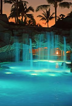 Hyatt Regency, Maui...hands down the most beautiful resorts I've been to. Went there for our honeymoon...need to go back :-)