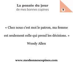 Sabias palabras de Woody Allen