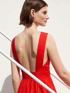 COS Shoulder Strap Dress