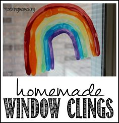 Homemade window clings are so easy to make and is a frugal way to decorate your windows! This craft requires just a few ingredients and is a fun craft to do with older children. I love making them!...