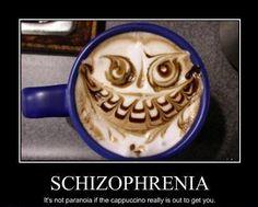 Faces in your Coffee?!? http://www.schizlife.com/is-schizophrenia-genetic/
