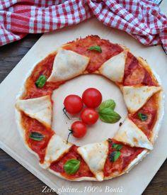 Ghirlanda di pizza senza glutine