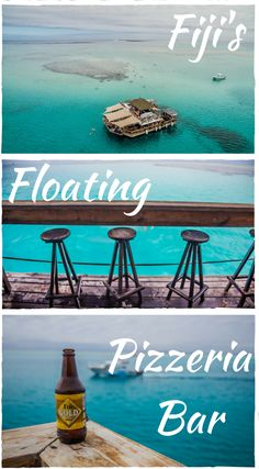 Fiji's floating pizzeria bar. Cloud Nine in Fiji is a truly one-of-a-kind two-level floating pizzeria and bar, often considered as a private island since only a limited number of visitors are welcomed aboard each day. Click to read Cloud 9 Fiji – Your Floating Paradise Guide #Fiji #Cloud9 #Travelguide