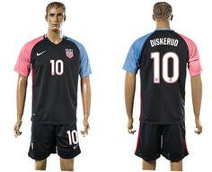 2016 USA Away #10 DISKERUD Soccer jerseys Uniform