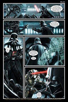Star Wars vs Aliens - short story - Page 6 of 6 by Robert-Shane on deviantART