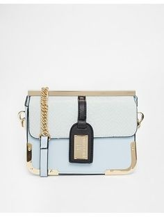 River Island Blue Luggage Tag X Body - Blue http://sellektor.com/all?q=river+island