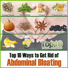 Prev post1 of 3Next Abdominal bloating is a condition in which the stomach feels full and tight due to buildup of gas in the small intestine. This can make the stomach area visibly swollen. Many times, bloating is accompanied by other symptoms like cramps, belching, pain, diarrhea, shortness of breath and lower back pain. A