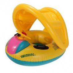 Baby boot met zonbescherming