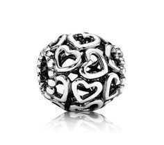 Pandora Xmas(Christmas) 2013 Silver Open Heart Charm 790964 Clearance Deals