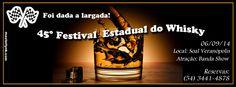 Rádio Web Mix Esporte&Som: VEC convida: O Festival do Whisky  é em Setembro