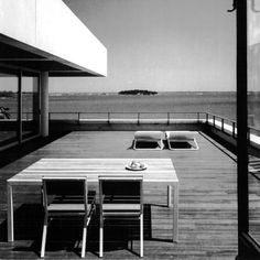 'Buttenweiser House' by Ulrich Franzen (1965) New York.