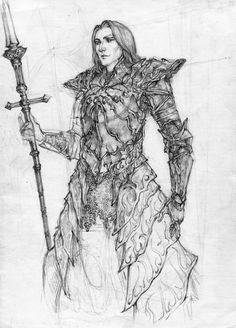 Ornstein The Dragonslayer by Selann.deviantart.com on @DeviantArt