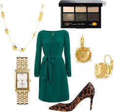"""""""Green with Envy"""" by aalampi on Polyvore"""