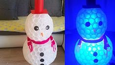 DIY snowman in cup - YouTube