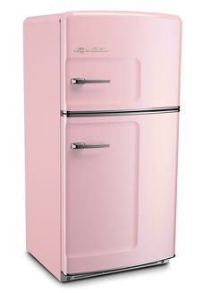 I WANT THIS!!!!! Pink Lemonade Retro Refrigerator by Big Chill