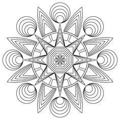 jewish mandala coloring pages Design Pinterest Mandala