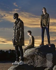 Male Fashion Trends: 'Las colecciones:': Editorial por Gorka Postigo para ICON Magazine Septiembre 2015
