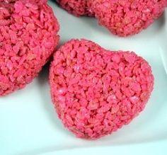 Heart-Shaped Krispy Treats