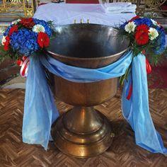 Κολυμπήθρα βάπτισης Altar, Cool Kids, Church Decorations, Tableware, Weddings, Baby, Baptisms, Dinnerware, Tablewares