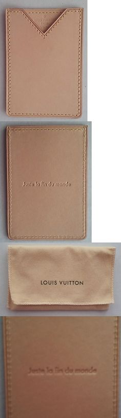 Business and Credit Card Cases 105544: Authentic Louis Vuitton Vachetta Leather Card Case Holder New Rare Oscar Promo -> BUY IT NOW ONLY: $198 on eBay!