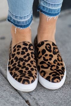 0c0a50c3cb3 Wild Side Leopard Print Side Sneakers (Leopard)