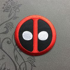 Deadpool patch Superhero Punk Patches Individuality Hat patches Embroidered Iron On Patches sew on patches