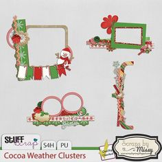Cocoa Weather Clusters  by Scraps by Missy