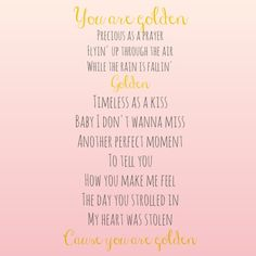 Golden // Inspired By Giving // Lady Antebellum Lyrics // Free Printable