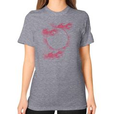 The Black Hole Unisex T-Shirt (on woman)