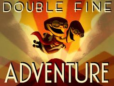 We have a very fine poster from this Double Fine Adventure game. We should frame it for the big wall.